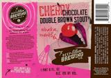 Deep Ellum Cherry Chocolate Double Brown Stout Beer