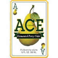 Ace California Pear Hard Cider beer Label Full Size