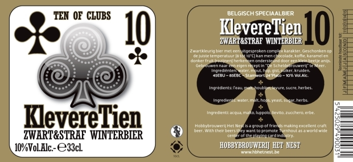 Het Nest Kleveretien beer Label Full Size