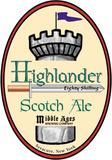 Middle Ages Highlander Scotch Ale beer