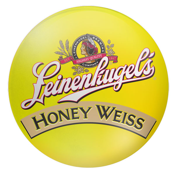 Leinenkugel's Honey Weiss beer Label Full Size
