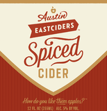 Austin Eastciders Spiced Cider beer