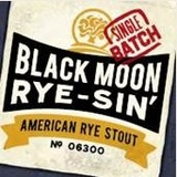 Oakshire Black Moon Rye-sin beer