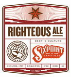 Sixpoint Righteous Ale beer