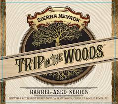 Sierra Nevada Trip in the Woods: Tequila Barrel-Aged Otra Vez beer Label Full Size