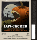 Arcadia Jaw-Jacker beer