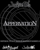 Jackie O's & Side Project Brewing Appervation beer