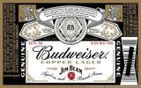 Anheuser-Busch Budweiser Reserve Copper Lager (Aged in Jim Beam Bourbon Barrel Staves) Beer