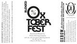 Oxbow Blended Oxtoberfest beer
