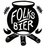 Folksbier Morello Raspberry Glow Up beer