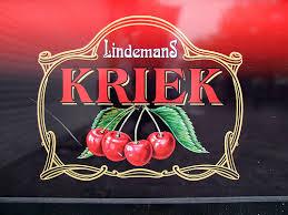 Lindemans Kriek beer Label Full Size
