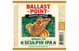 Ballast Point Spruce Tip Sculpin Beer