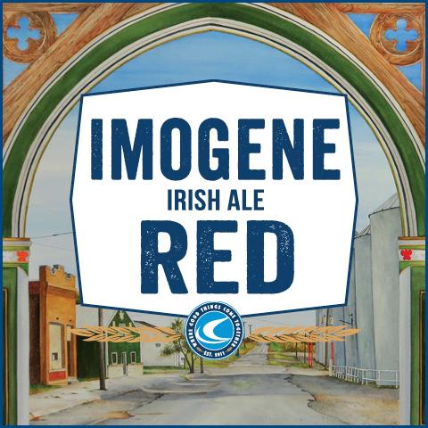 Confluence Imogene Red Irish Ale beer Label Full Size