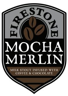 Firestone Walker Mocha Merlin Nitro beer Label Full Size