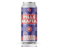Thin Man Pills Mafia beer Label Full Size