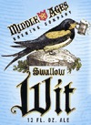 Middle Ages Swallow Wit beer Label Full Size