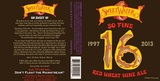 SweetWater 16 So Fine Red Wheat Wine Ale beer