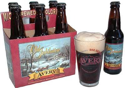 Avery Old Jubilation beer Label Full Size