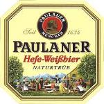Paulaner Hefe-Weizen beer