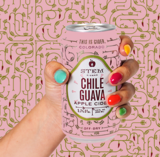 Stem Ciders Chile Guava beer