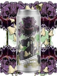 Burial / Bearded Iris Dawn For The Departed beer Label Full Size