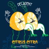Decadent Citrus Citra beer