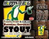 Hoppin Frog Barrel Aged B.O.R.I.S. Oatmeal Imperial Stout Beer