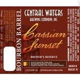 Central Waters Brewers Reserve Cassian Sunset beer