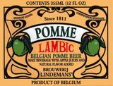 Lindemans Pomme beer