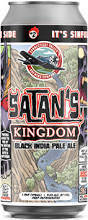 Connecticut Valley Satan's Kingdom beer Label Full Size
