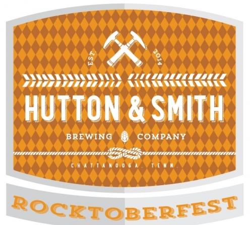 Hutton & Smith Rocktoberfest beer Label Full Size