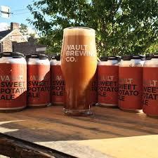 Vault Sweet Potato Ale Nitro beer Label Full Size