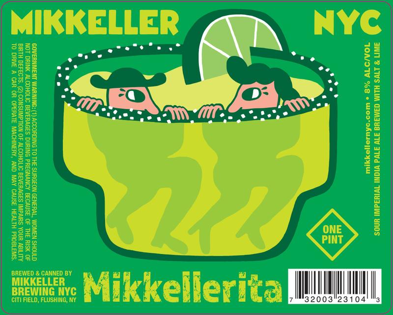 Mikkeller NYC Mikkellerita beer Label Full Size
