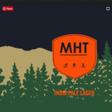 Baxter MHT Maine Huts and Trails beer