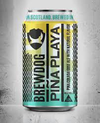 BrewDog Piña Playa beer Label Full Size