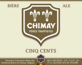 Chimay Cinq Cents (White) beer