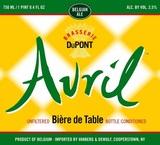 Avril Biere De Table beer