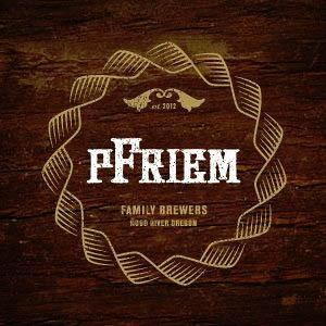 Pfreim IPA beer Label Full Size