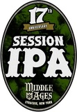 Middle Ages 17th Anniversary Session IPA beer