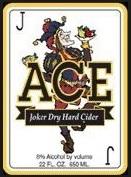 Ace Joker Dry Hard Cider beer Label Full Size