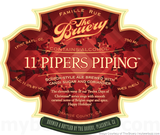 Bruery 11 Pipers Piping beer