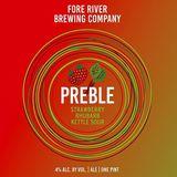 Fore River Preble, Tart Cherries beer