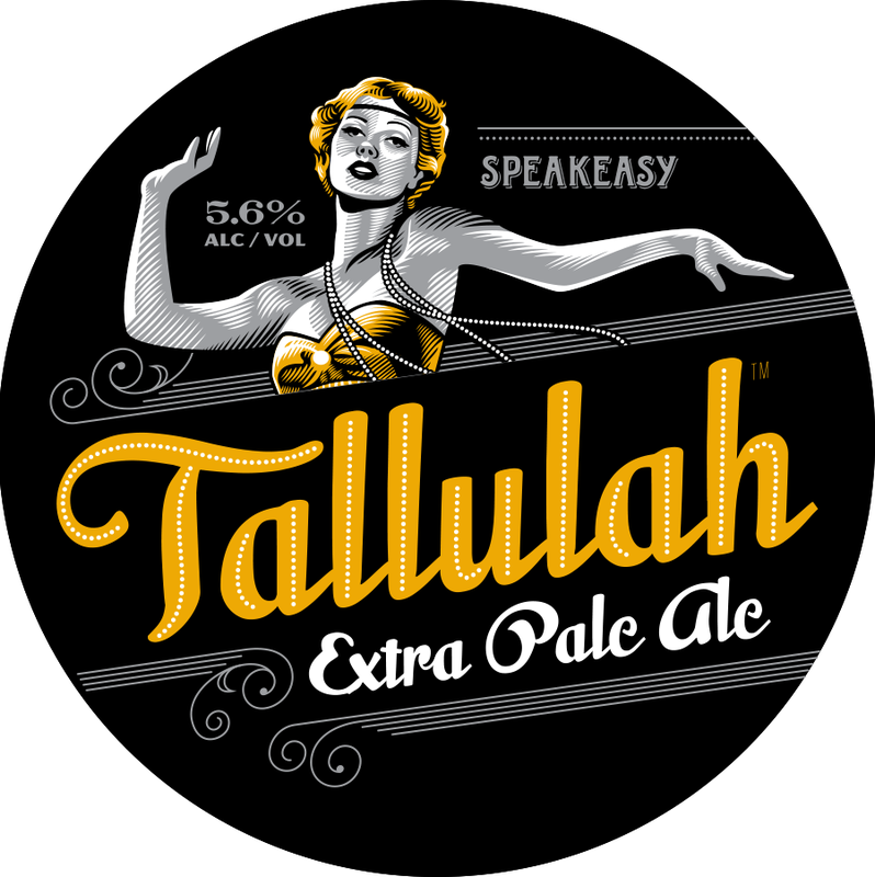 Speakeasy Tallulah Extra Pale Ale beer Label Full Size