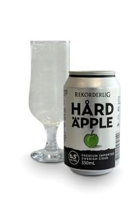 Rekorderlig Hard Äpple Cider beer Label Full Size