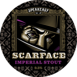 Speakeasy Scarface Imperial Stout beer