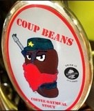New England Coup Beans beer