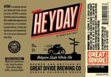 Great Divide Heyday Witbier beer