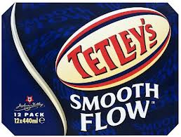 Tetley's Smooth Flow beer Label Full Size