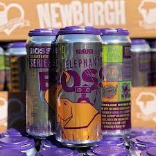 Newburgh + Rushing Duck ElephantBoss beer Label Full Size