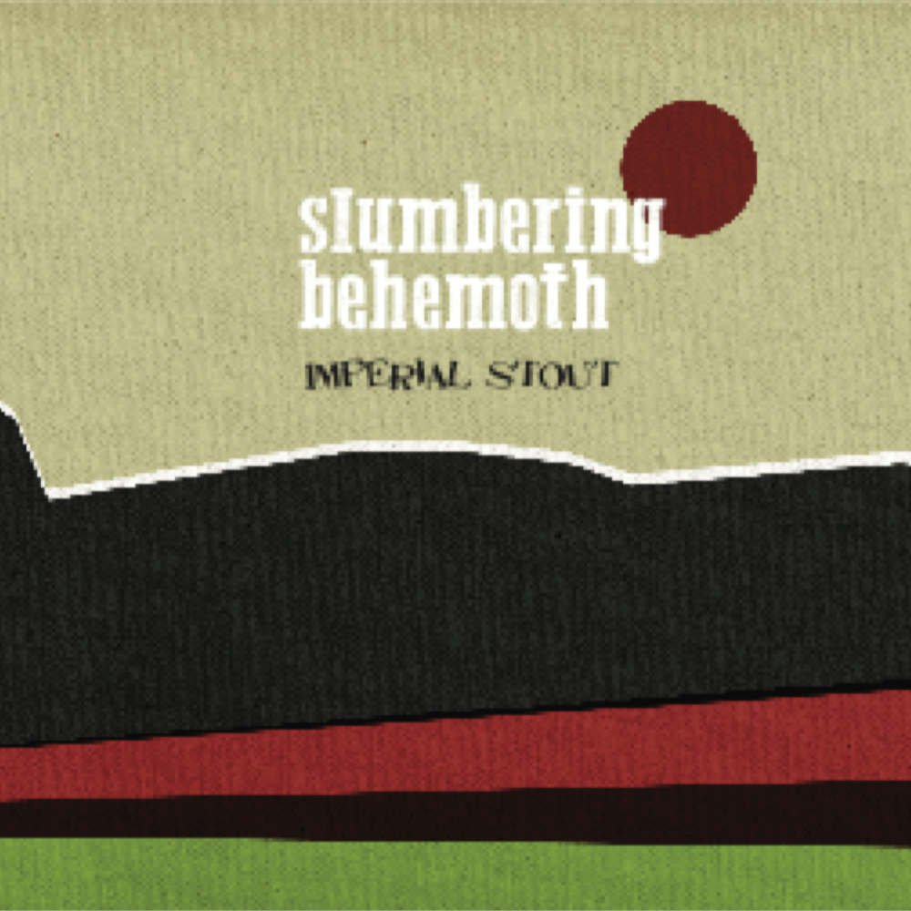 Counter Weight Slumbering Behemoth beer Label Full Size